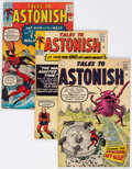 Silver Age (1956-1969):Horror, Tales to Astonish #39, 43, and 46 UK Editions Group (Marvel,1963).... (Total: 3 Comic Books)