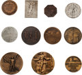 Miscellaneous Collectibles:General, 1896-2012 Summer Olympics Participation Medals Complete Run of 27....
