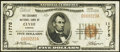 National Bank Notes:Kansas, Clyde, KS - $5 1929 Ty. 1 The Exchange NB Ch. # 11775. ...