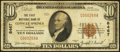 National Bank Notes:Kansas, Conway Springs, KS - $10 1929 Ty. 1 The First NB Ch. # 8467. ...