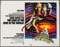 "Movie Posters:Adventure, The Light at the Edge of the World & Other Lot (NationalGeneral, 1971). Half Sheet (22"" X 28"") & One Sheet (27"" X 41"").Adv... (Total: 2 Items)"