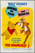 "Movie Posters:Animation, Winnie the Pooh and Tigger Too! (Buena Vista, 1974). One Sheet (27"" X 41""). Animation.. ..."