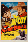 "Movie Posters:Western, The Fighting Renegade (Victory, 1939). One Sheet (27"" X 41""). Western.. ..."