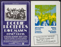 "Movie Posters:Rock and Roll, The Doobie Brothers at the Campus Stadium UC Santa Barbara &Other Lot (A.S. Concerts, 1975). Concert Posters (2) (14"" X 22""...(Total: 2 Items)"