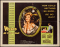"Movie Posters:Bad Girl, Wicked as They Come (Columbia, 1956). Half Sheet (22"" X 28"") Style B. Bad Girl.. ..."