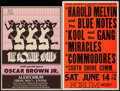 Movie Posters:Rock and Roll, The Pointer Sisters with Oscar Brown Jr. at the First FederalAuditorium & Other Lot (Northwest Releasing, 1970s). ConcertW... (Total: 2 Items)