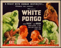 "Movie Posters:Adventure, White Pongo (PRC, 1945). Title Lobby Card (11"" X 14""). Adventure....."