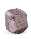 Minerals:Thumbnail, Cobaltite. Tunaberg Cu-Co Ore Field. Tunaberg, Nyköping. Södermanland. Sweden. 0.74 x 0.61 x 0.65 inches (1.88 x 1.54 x 1....