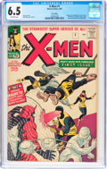 Silver Age (1956-1969):Superhero, X-Men #1 UK Edition (Marvel, 1963) CGC FN+ 6.5 Off-white pages....