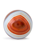 Lapidary Art:Eggs and Spheres, Agate Sphere. Brazil. 1.88 inches (4.8 cm) in diameter . ...
