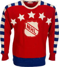 1947 Maurice Richard NHL Inaugural All-Star Game Worn Jersey