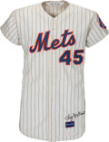 "Baseball Collectibles:Uniforms, 1970 Frank ""Tug"" McGraw Game Worn New York Mets Jersey. ..."