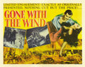 "Movie Posters:Academy Award Winner, Gone with the Wind (MGM, 1939). Half Sheet (22"" X 28""). ..."