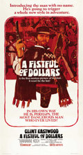 """Movie Posters:Western, A Fistful of Dollars (United Artists, 1967). Three Sheet (41"""" X81"""")...."""