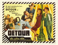 "Movie Posters:Film Noir, Detour (PRC, 1945). Half Sheet (22"" X 28""). ..."
