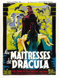 """Movie Posters:Horror, Brides of Dracula (Universal International, 1960). French Grande(47"""" X 63""""). ..."""