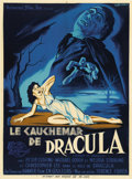 "Movie Posters:Horror, Horror of Dracula (Universal International, 1958). French Petite(23.5"" X 31.5""). ..."