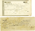 Miscellaneous:Ephemera, Gail Borden Land Grant Annual Dues Receipts.... (Total: 2 Items)