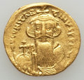 Ancients:Byzantine, Ancients: Constans II (641-668). AV solidus (4.48 gm)....