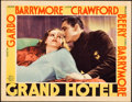"Movie Posters:Academy Award Winners, Grand Hotel (MGM, 1932). Lobby Card (11"" X 14""). Academy Award Winners.. ..."
