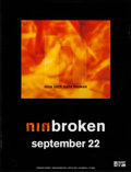 "Movie Posters:Rock and Roll, Nine Inch Nails: Broken (Interscope, 1992). EP Posters (5) Identical (24"" X 31.25"") Advance. Rock and Roll.. ... (Total: 5 Items)"