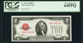 Small Size:Legal Tender Notes, Fr. 1503 $2 1928B Legal Tender Note. PCGS Very Choice New 64PPQ.. ...