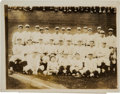 Baseball Collectibles:Photos, 1921 New York Yankees Original News Photograph, PSA/DNA Type 3....