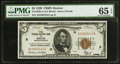 Small Size:Federal Reserve Bank Notes, Fr. 1850-A $5 1929 Federal Reserve Bank Note. PMG Gem Uncirculated 65 EPQ.. ...