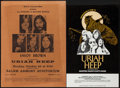 Movie Posters:Rock and Roll, Uriah Heep with Manfred Mann's Earth Band at the Mid-South Coliseum& Other Lot (Entertainment Concept, 1974). Concert Poste...(Total: 2 Items)