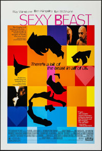 """Sexy Beast (Fox Searchlight, 2000). One Sheet (27"""" X 40"""") DS. Crime"""