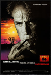 """White Hunter, Black Heart & Other Lot (Warner Brothers, 1990). One Sheets (3) (27"""" X 40"""", 27"""" X 4..."""