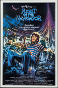 """Flight of the Navigator & Others Lot (Buena Vista, 1986). One Sheets (12) (25""""-27"""" X 37.75""""-41"""")..."""