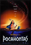 """Movie Posters:Animation, Pocahontas & Other Lot (Buena Vista, 1995). One Sheets (2) (27"""" X 40"""") SS. Animation.. ... (Total: 2 Items)"""
