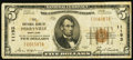 National Bank Notes:Maryland, Perryville, MD - $5 1929 Ty. 1 The NB of Perryville Ch. # 11193....