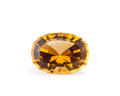 Gems:Faceted, Gemstone: Citrine - 6.85 Ct.. Brazil. 14 x 10.2 x 8.8 mm....