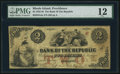 Obsoletes By State:Rhode Island, Providence, RI- Bank of the Republic $2 Nov. 3, 1855 RI-385 G4a. ...