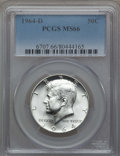 Kennedy Half Dollars, (5)1964-D 50C MS66 PCGS. PCGS Population (682/47). NGC Census:(408/14). Mintage: 156,205,440.... (Total: 5 coins)