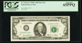 Small Size:Federal Reserve Notes, Fr. 2166-G* $100 1969C Federal Reserve Star Note. PCGS Gem New 65PPQ.. ...