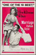 """Movie Posters:Foreign, Marriage Italian-Style & Other Lot (Embassy, 1964). One Sheets (2) (27"""" X 41"""") Styles A & B. Foreign.. ... (Total: 2 Items)"""