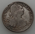 Mexico, Mexico: Charles IV Lot of Three Colonial 8 Reales Coins 1802 18031804,... (Total: 3 coins)