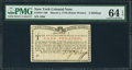 Colonial Notes:New York, New York March 5, 1776 (Water Works) 4s PMG Choice Uncirculated 64EPQ.. ...