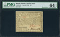 Colonial Notes:Rhode Island, Rhode Island July 2, 1780 $2 PMG Choice Uncirculated 64 EPQ.. ...