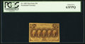Fractional Currency:First Issue, Fr. 1281 25¢ First Issue PCGS Choice New 63PPQ.. ...