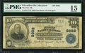 National Bank Notes:Maryland, Kitzmillerville, MD - $10 1902 Plain Back Fr. 626 The First NB Ch.# 8302. ...