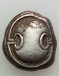Ancients:Greek, Ancients: BOEOTIA. Thebes. Ca. 363-338 BC. AR stater (12.26 gm)....