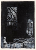 Prints:Contemporary, John Walker (British, b. 1939). Memory V, 1989. Woodcut andscreenprint on wove paper. 46-1/2 x 33-1/2 inches (118.1 x 8...