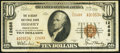 National Bank Notes:Pennsylvania, Hershey, PA - $10 1929 Ty. 2 The Hershey NB Ch. # 12688. ...