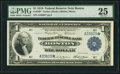 Fr. 708* $1 1918 Federal Reserve Bank Star Note PMG Very Fine 25