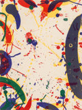 Fine Art - Work on Paper:Print, Sam Francis (American, 1923-1994). Blue Bones, 1964.Lithograph in colors. 17-1/2 x 13 inches (44.5 x 33 cm) (sheet).Fr...