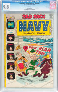 Bronze Age (1970-1979):Humor, Sad Sack Navy Gobs and Gals #1 File Copy (Harvey, 1972) CGC NM/MT9.8 White pages....